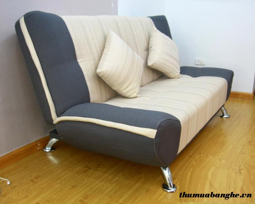 Băng Sofa Dài 2m Cũ Màu Xám Trắng