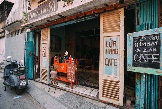 Bàn Ghế Quán Cafe Cũ Đậm Chất Sài Gòn -1